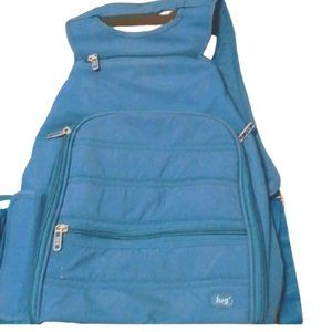 Lug travel backpack and coin purse
